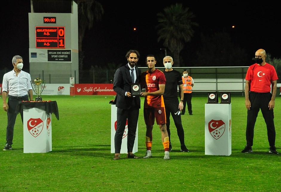 Süper Lig U19 Gelişim Ligi'nde ödüller sahibini buldu