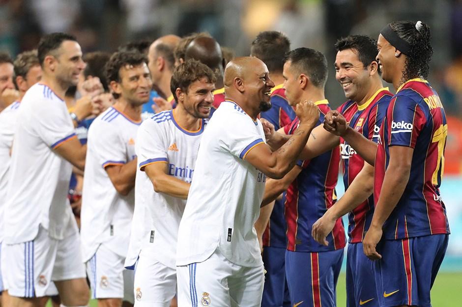 Efsanelerin El Clasico kapışmasını Real Madrid kazandı
