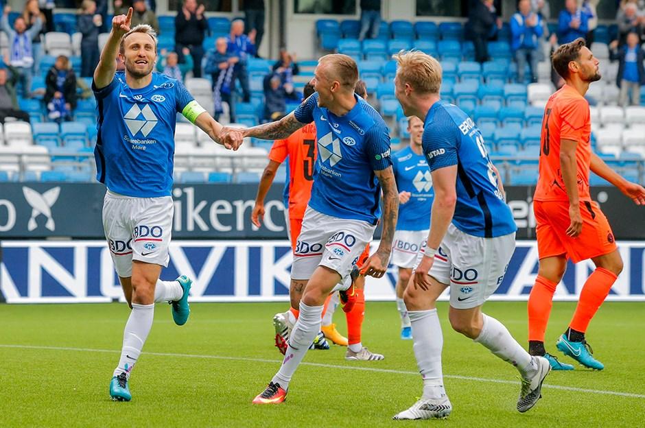 Molde, Servette'i 3 golle geçti