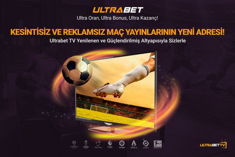 Kesintisiz Canlı Yayın UltrabetTV