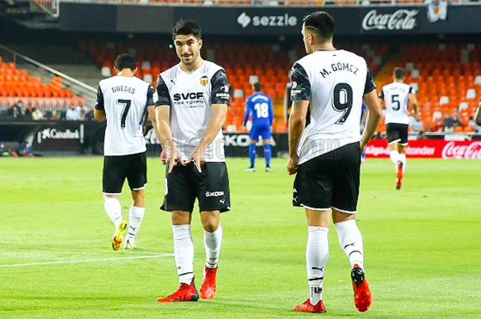 İspanya'da üç puanlı açılış Valencia'dan
