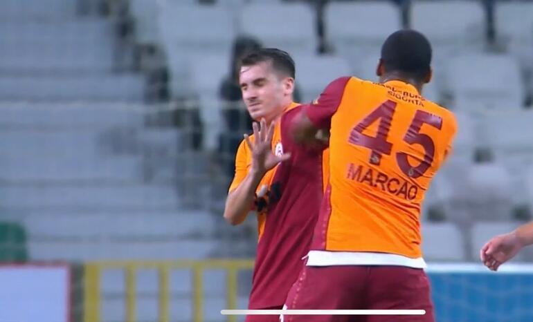 Galatasaray'da tarihi skandal! Marcao'dan Kerem Aktürkoğlu'na kafa ve yumruk