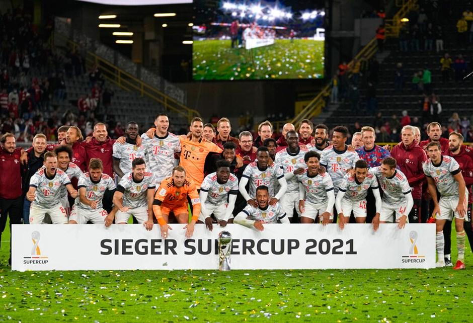 Almanya Süper Kupası 9. kez Bayern Münih'in