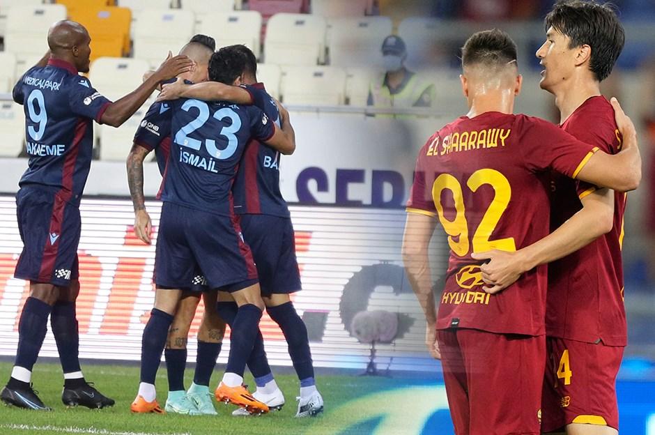 Trabzonspor, UEFA Avrupa Konferans Ligi play-off turu ilk maçında