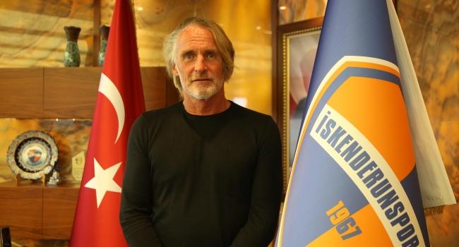 Riekerink, İskenderunspor'la şampiyonluk hedefliyor