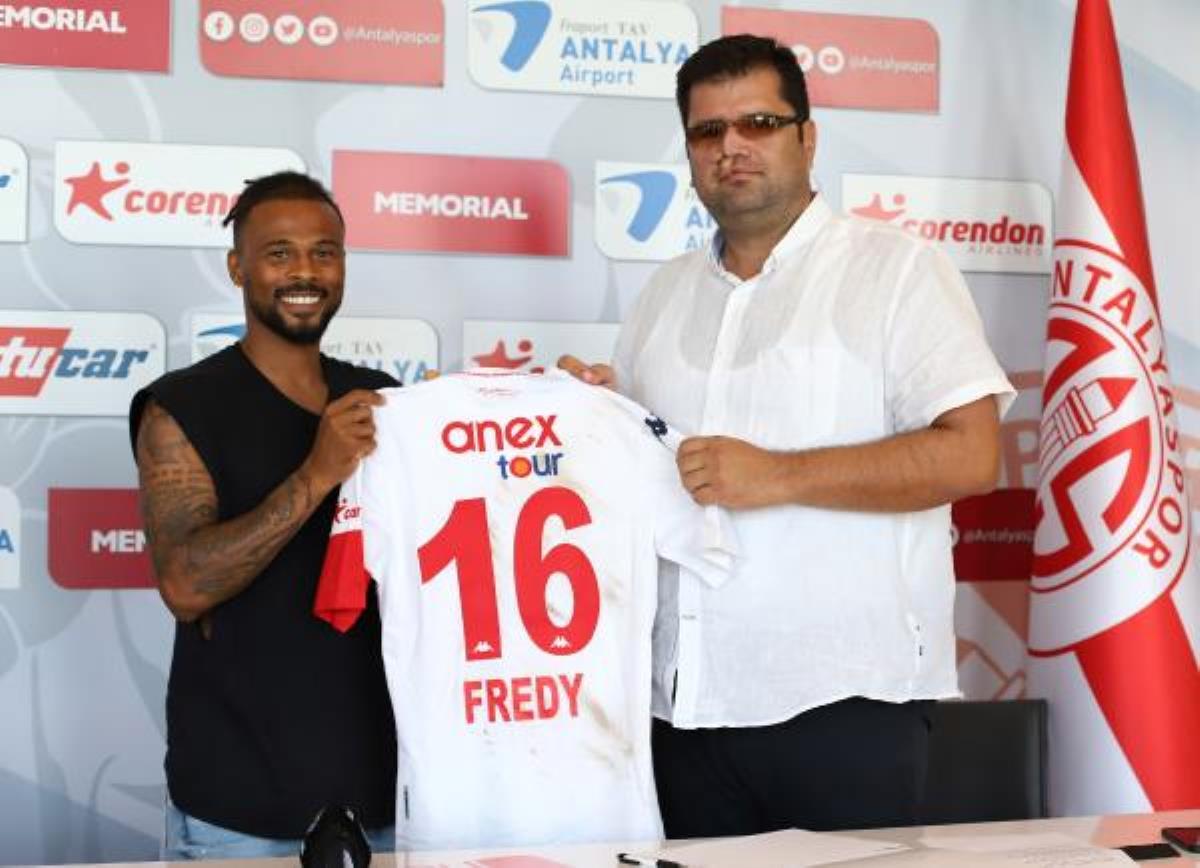 Antalyaspor, Fredy Ribeiro'nun sözleşmesini uzattı