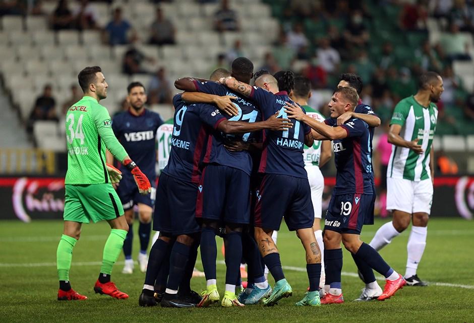 Fırtına'dan 3'te 3 geldi... Giresunspor 0-1 Trabzonspor
