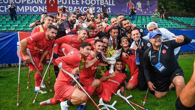 Ampute Futbol Milli Takımımız, Avrupa Şampiyonası'nda finalde!