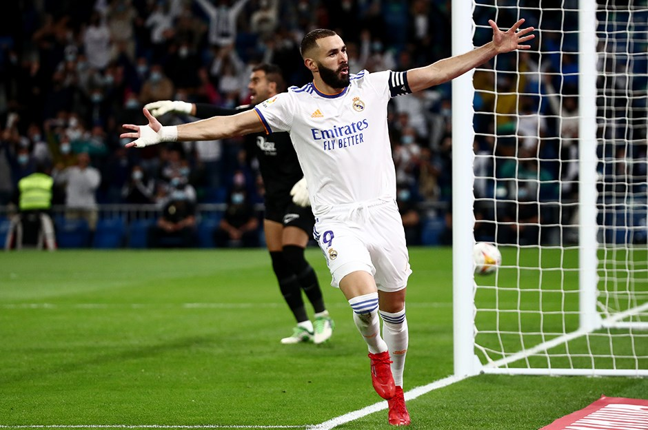 Real Madrid: 6 - Mallorca: 1 Karim Benzema'nın gecesi