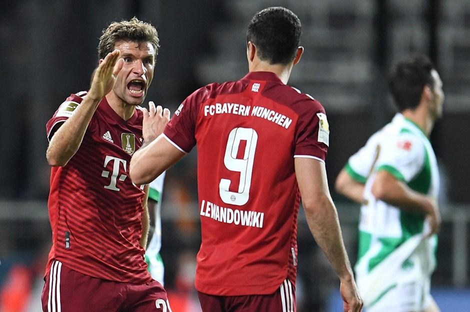 Greuther Fürth: 1 - Bayern Münih: 3
