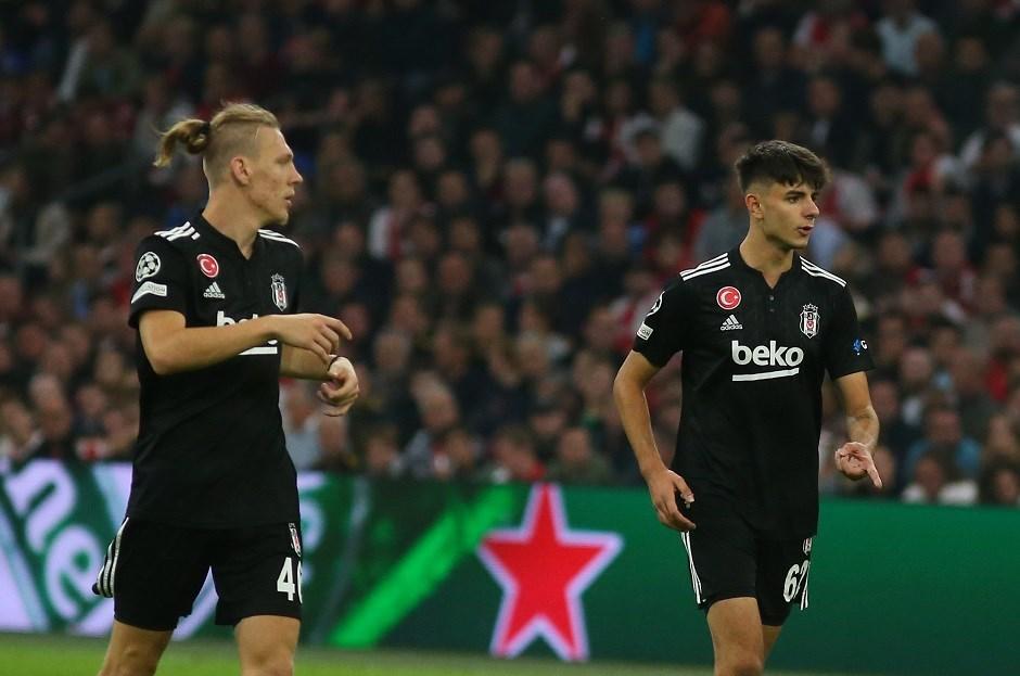 Beşiktaş'ın gençleri Şampiyonlar Ligi'nde vitrine çıktı