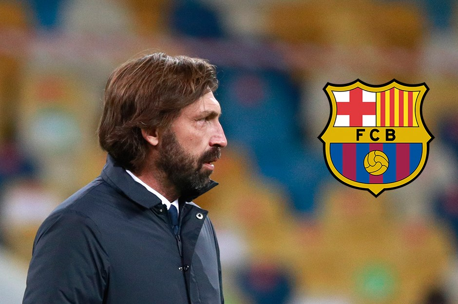 Barcelona teknik direktörlüğü için Andrea Pirlo ile sürpriz görüşme