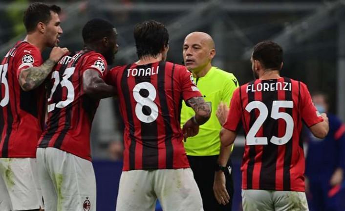 Milan, Cüneyt Çakır'ı UEFA'ya şikayet etti!