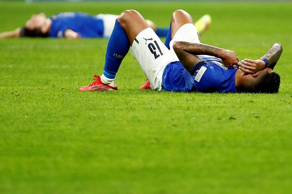 İtalya'nın rekorlar serisine İspanya son verdi