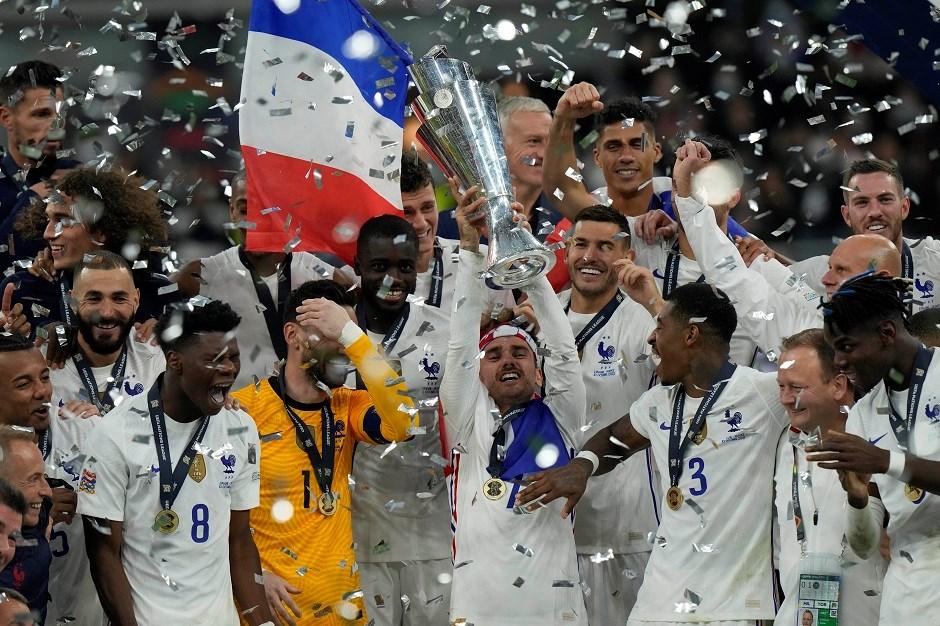 Uluslar Ligi'nde şampiyon Fransa